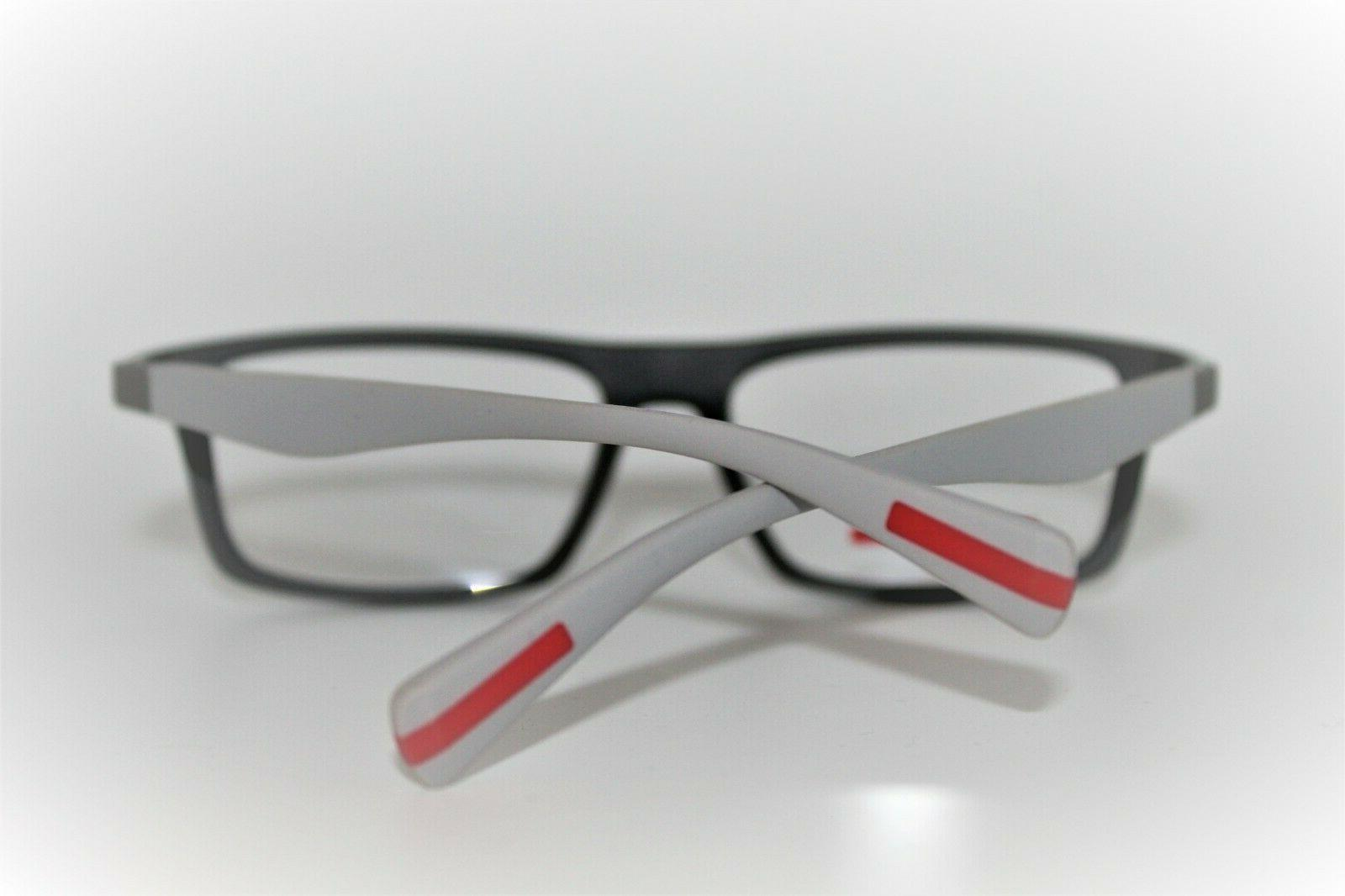 NEW SPORT VPS 02F GREY AUTHENTIC EYEGLASSES 56MM RX