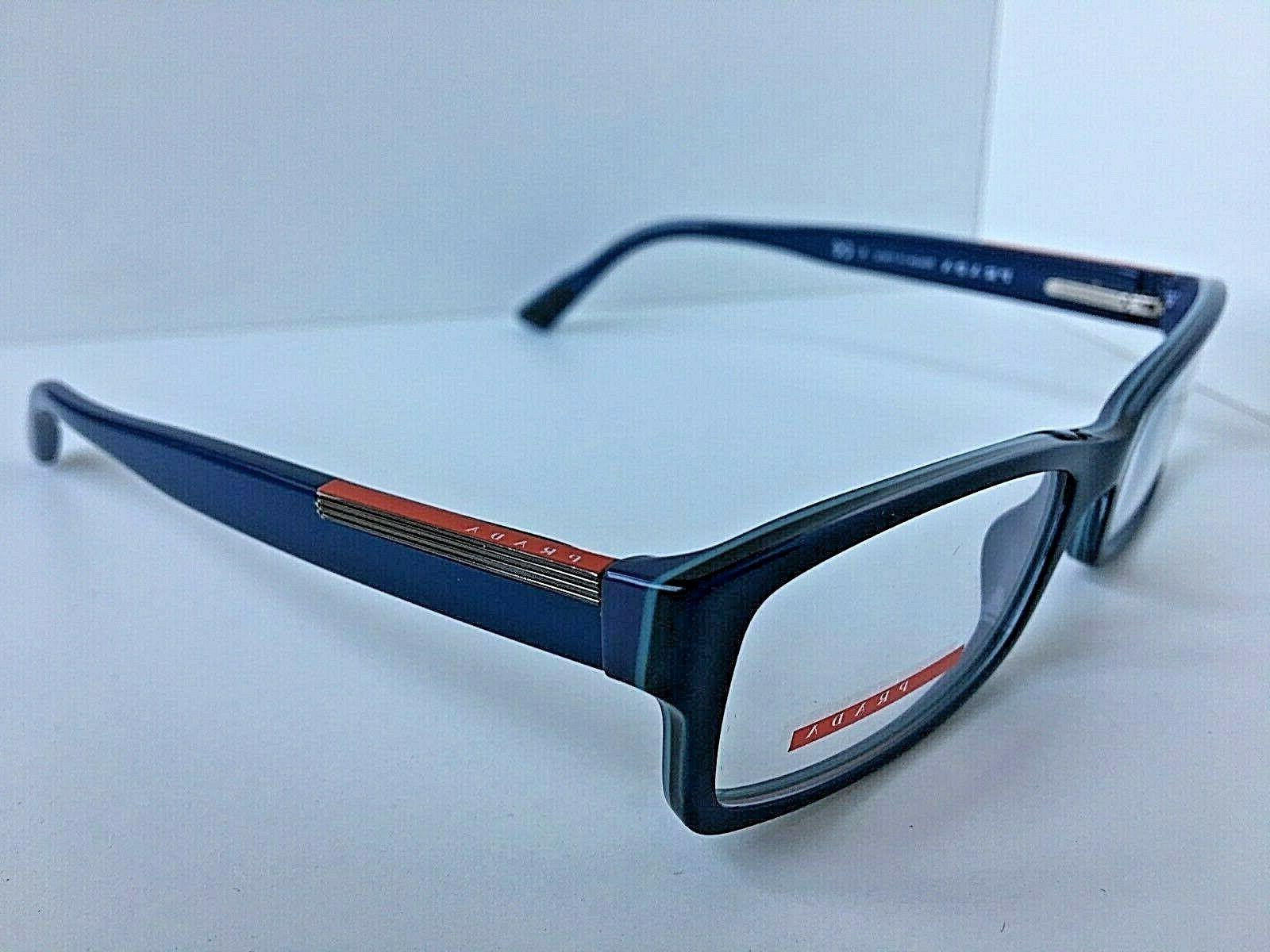 New PRADA 10A Rx 52mm Men's Eyeglasses Frame