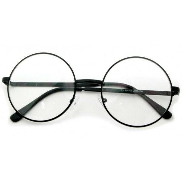 New Clear Round Glasses Oversize to Unisex Eyeglasses