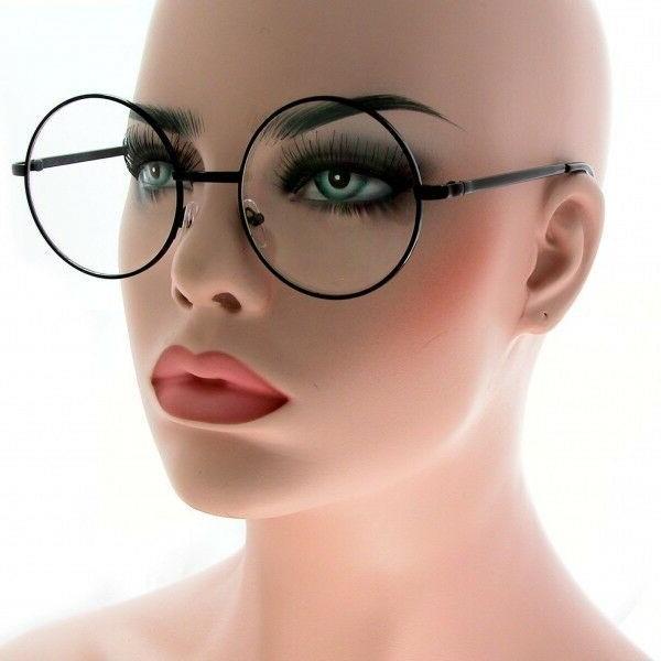 New Vintage Round Metal Glasses to Small Unisex Eyeglasses