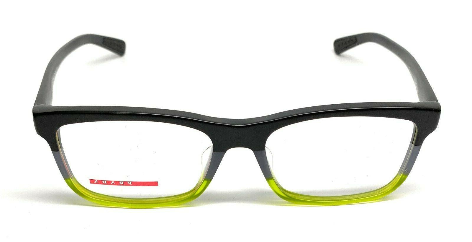 New Prada VPS TWU-1O1 Black Authentic Eyeglasses Frame 55-17