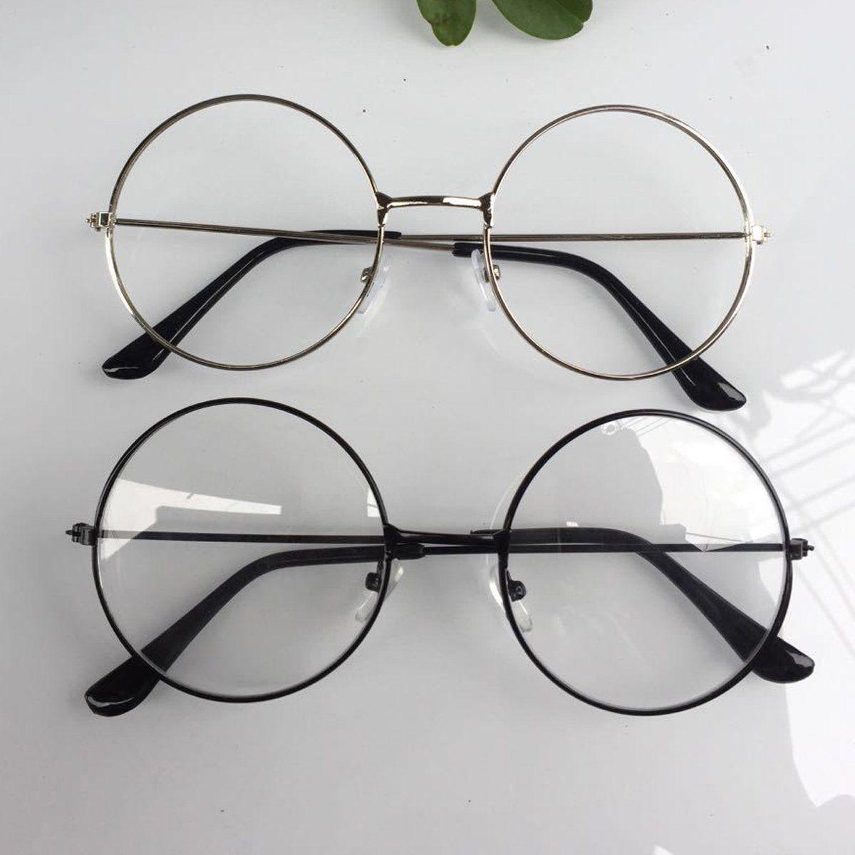 New! Large Oversized Frame Lens Glasses