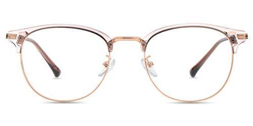 non prescription blue light blocking glasses semi