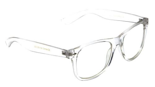 Non-Prescription Eyeglasses Transparent Frame Clear Lens Gla