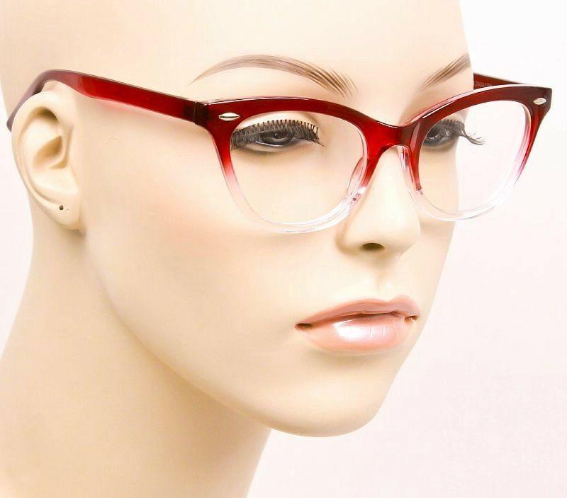 Ombre Gradient Eye Frames Demi Fashion Lens 1404
