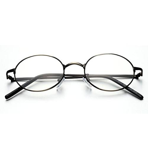 PenSee Oval Circle Eye Glasses Eyewear
