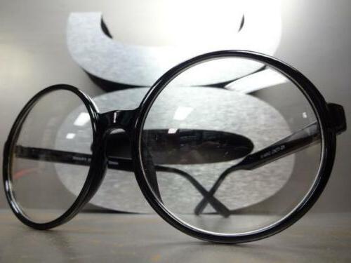 OVERSIZE Style Lens GLASSES Large Round Fashion Frame