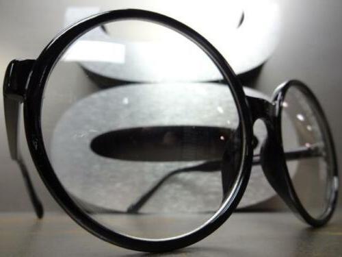 Lens Round Black