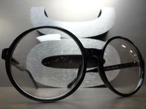 OVERSIZE Style Clear Lens
