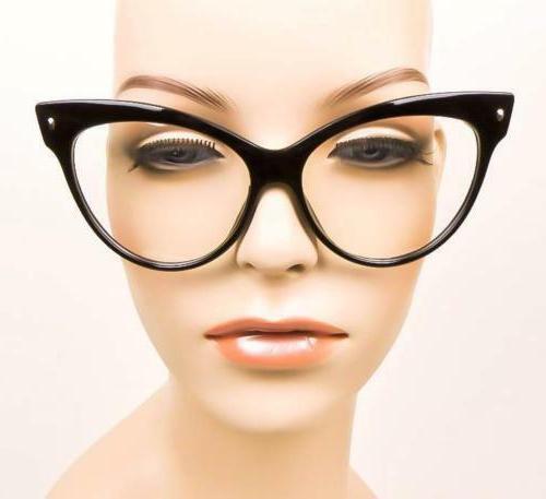 Oversized Girl Rockabilly Glasses