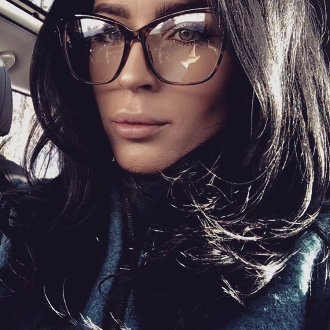 Oversized Large Big Lens Eyeglasses Frames Glasses