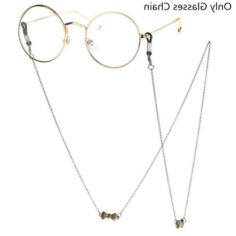 owl glasses necklace eye wear accessories eyeglass
