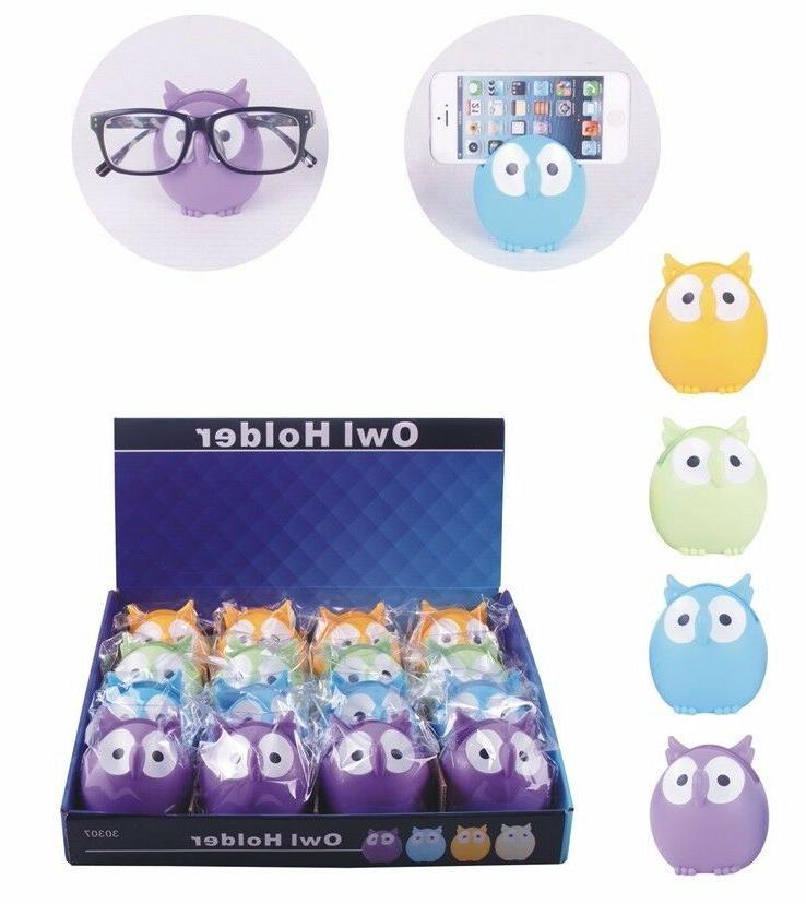 Owl Glasses Holder Stand Display