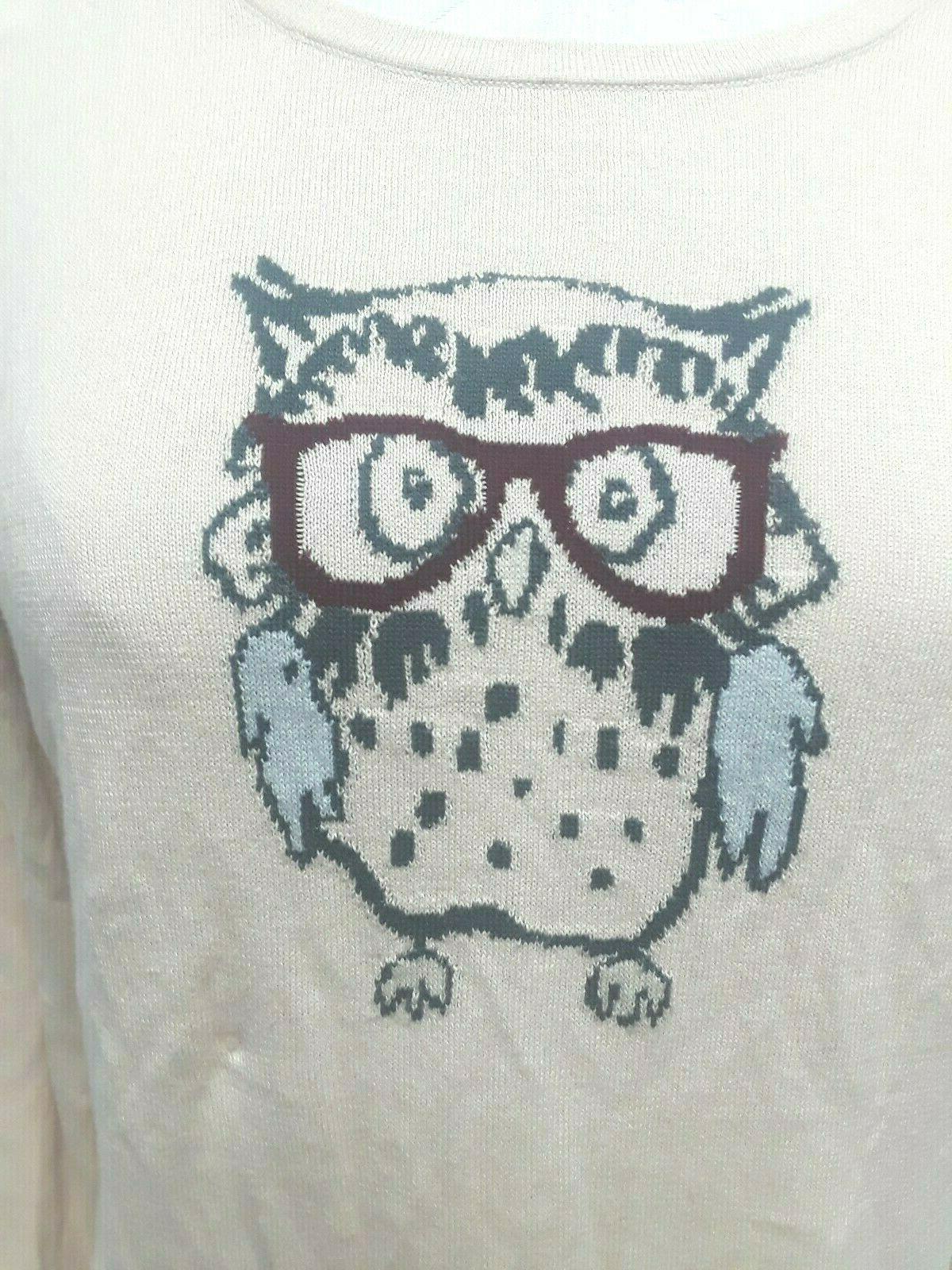 Ann Eye Glasses top NWT Sz Small