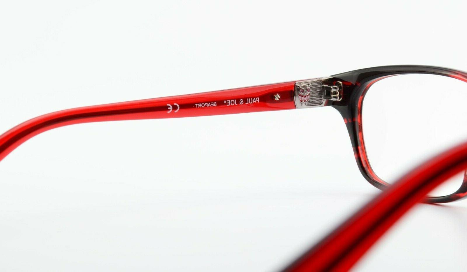 PAUL Glasses 31 Ecro 49 Red Eye Frame
