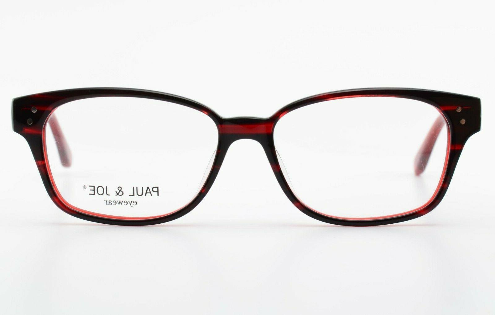PAUL & JOE Glasses 49 135 Red Eye Frame Owl