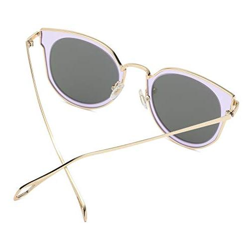 AMOMOMA Women Mirrored AS1711 Frame/lilac