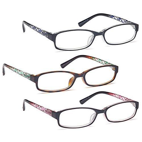 GAMMA RAY 3 Women Fashion Readers Elegant Glasses - 1.00x