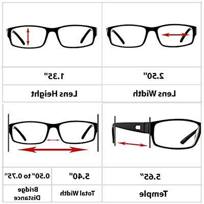Reading Glasses Pack For Men Women Professional 9504