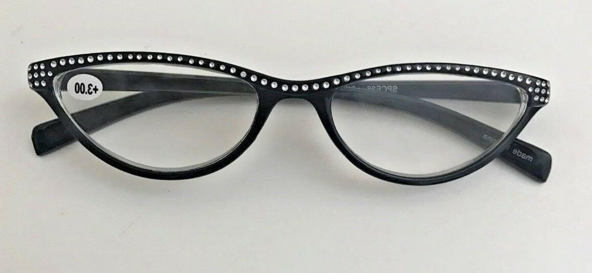 Reading Style Look Women Glasses+Case__Strength