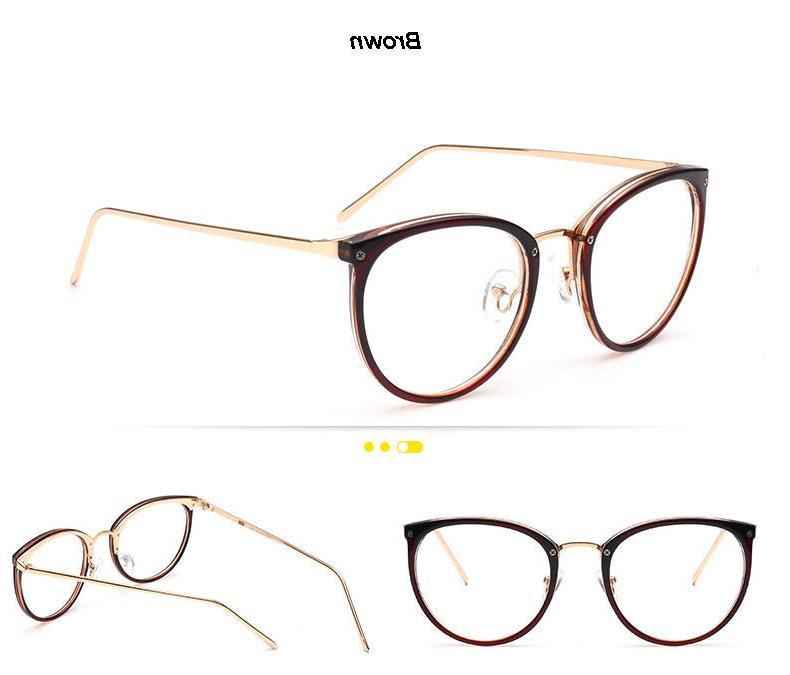 Retro Mens Womens Lens Optical