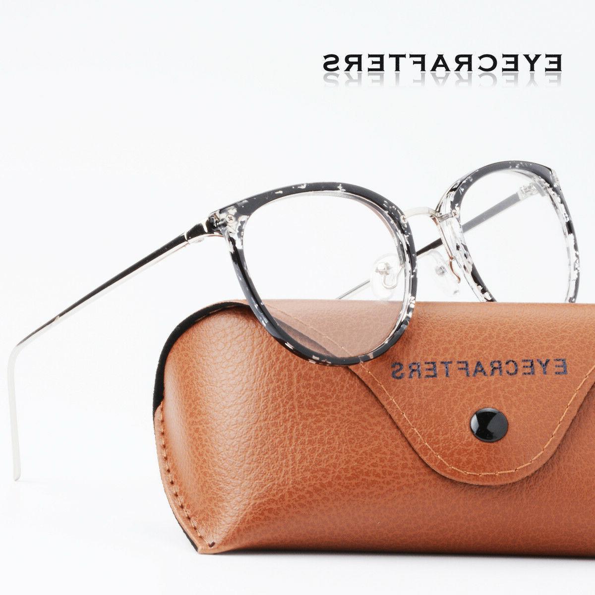 Retro Mens Womens Lens Optical Computer Glasses