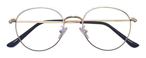 Outray Retro Frame Lens Small Round Eye Glasses