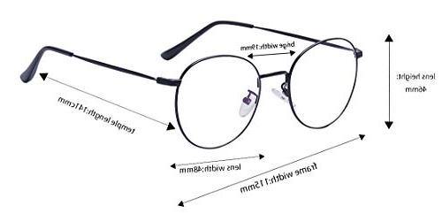 Outray Glasses Frame Clear Lens Small Round Eye