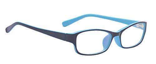 retro rectangle clear lens glasses