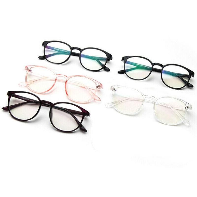 Retro Round Myopia Eyeglasses Frame Clear Spectacle Optical