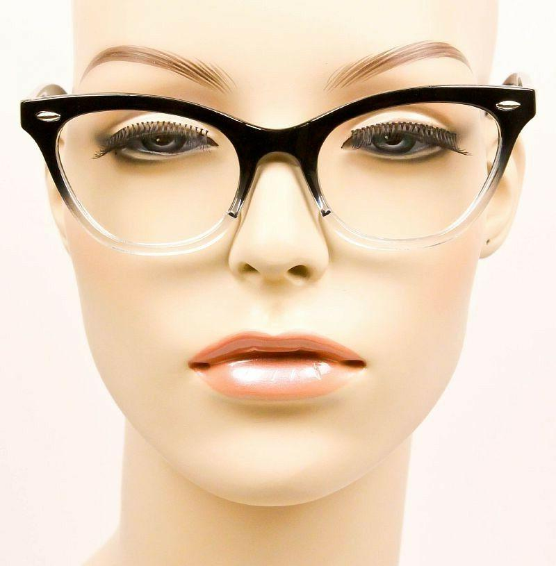 Retro Gradient CAT EYE Women WaYfe Fashion Eye Glasses Frames 1404