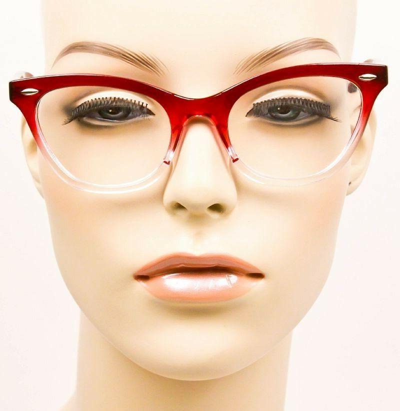 Retro EYE Clear Women WaYfe Fashion 1404