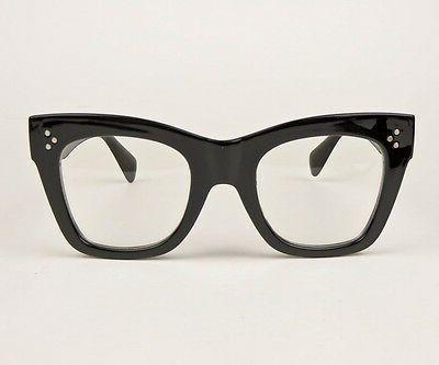 Sexy Large Thick Eye Geek Eyeglasses Glasses 80661 L