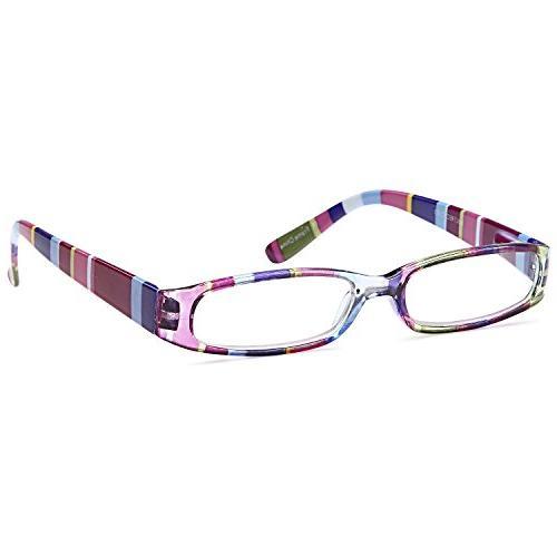 GAMMA 3 Ladies Slim Colorful Reading Glasses 2.25x