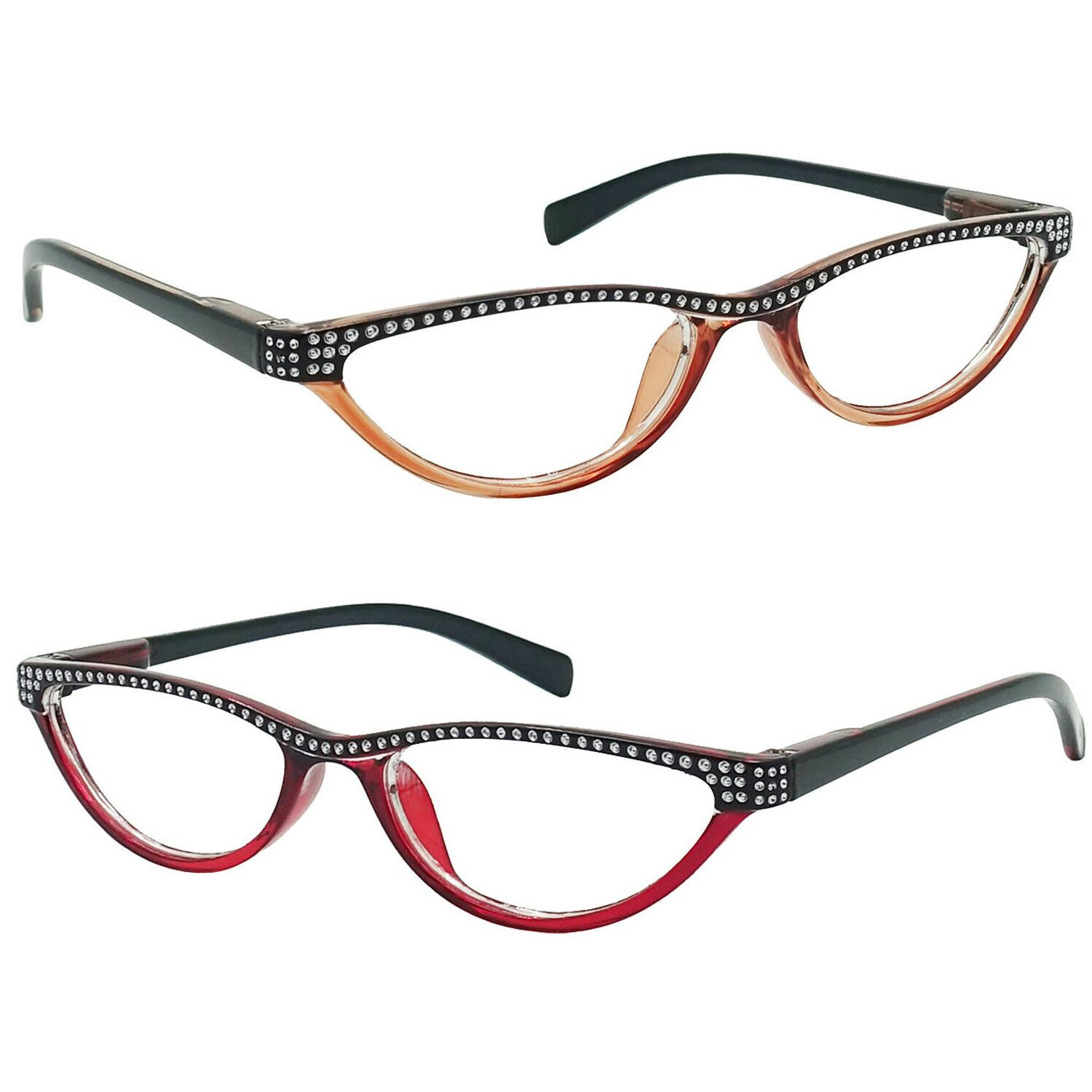 small cat eye reading glasses 4 color