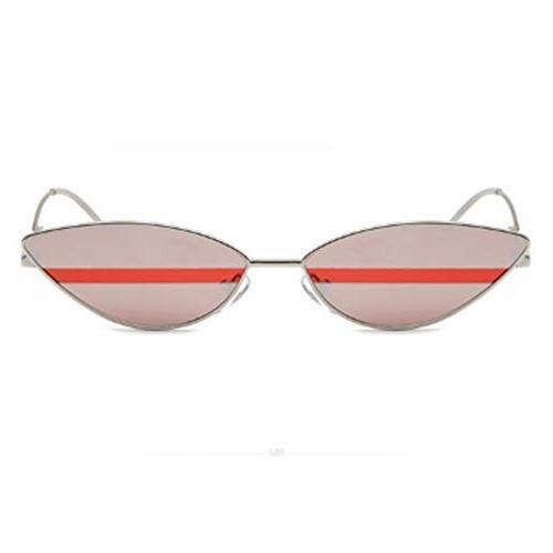 small frame skinny cat eye sunglasses