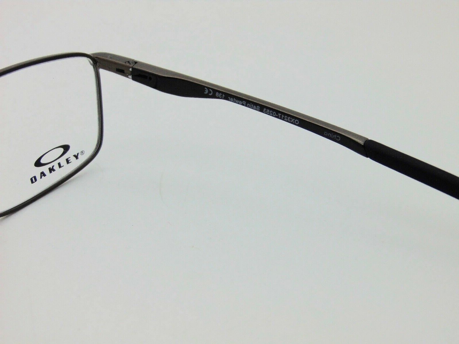 OAKLEY Socket 5.0 Satin Pewter Rx Authentic