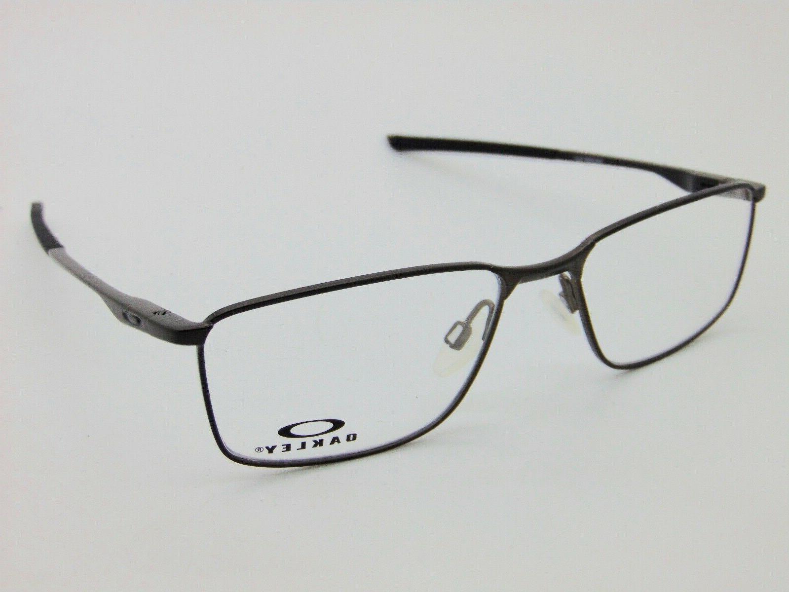 Satin Pewter Authentic Eyeglasses