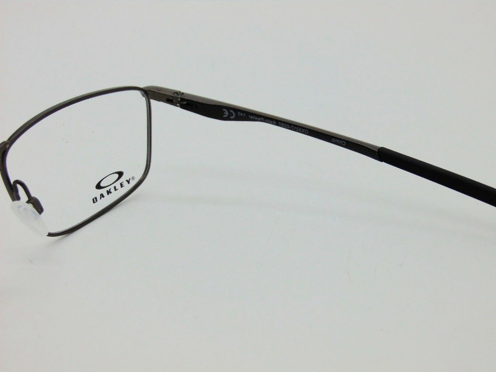 OAKLEY OX3217-0257 Satin Pewter 57mm Authentic