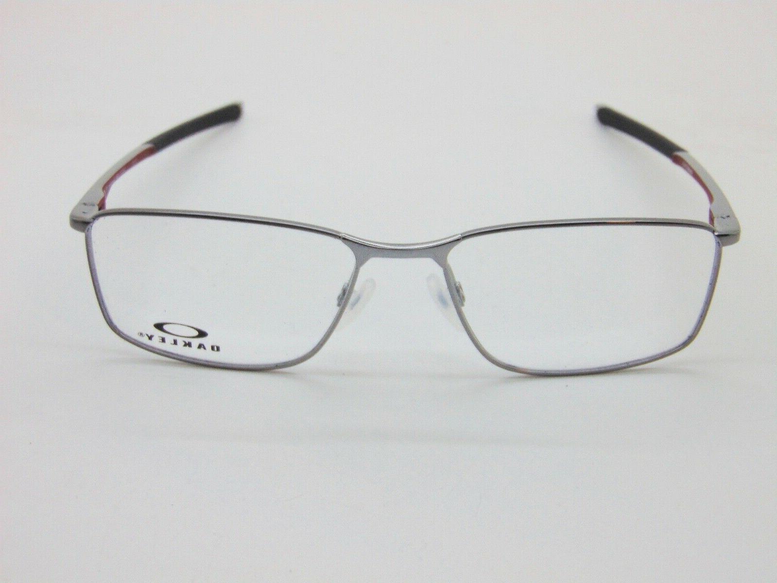 OAKLEY SOCKET 5.0 OX3217-0955 Gunmetal/Cardinal 55mm Rx Authentic Eyeglasses