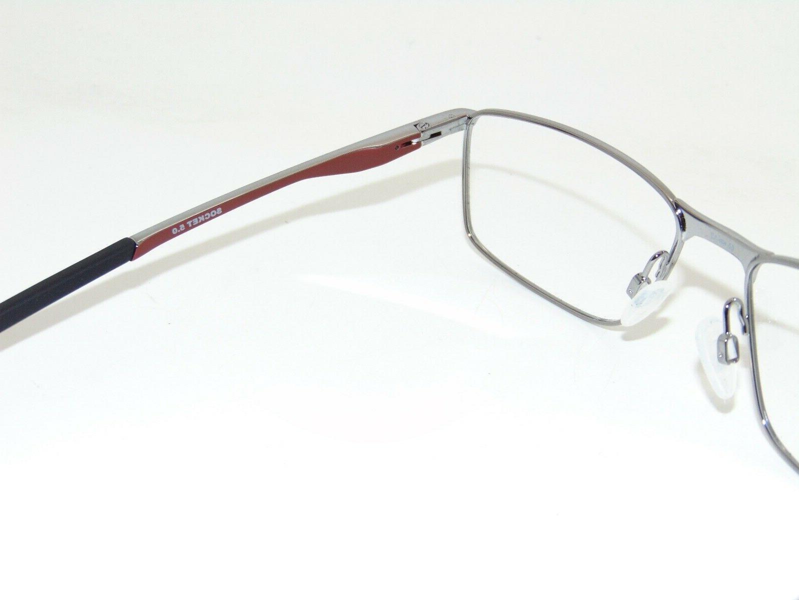 OAKLEY SOCKET Gunmetal/Cardinal 55mm Rx Eyeglasses