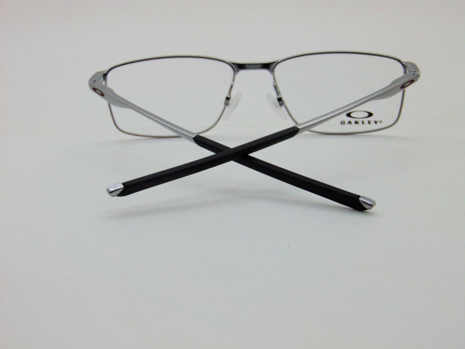 OAKLEY Gunmetal/Cardinal 55mm Eyeglasses
