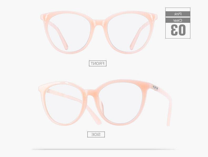 Solid Clear Lens Thin Fashion