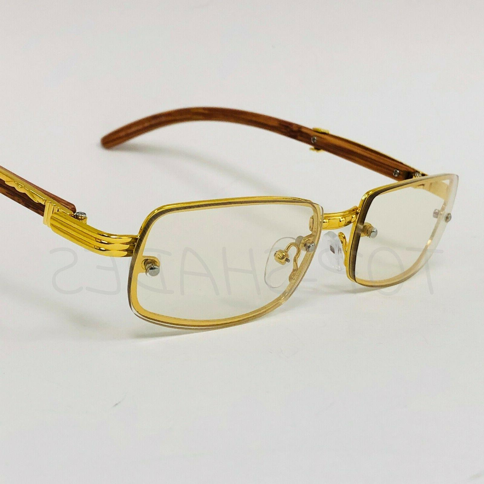 Sophisticated Elegant Eye Gold Frame