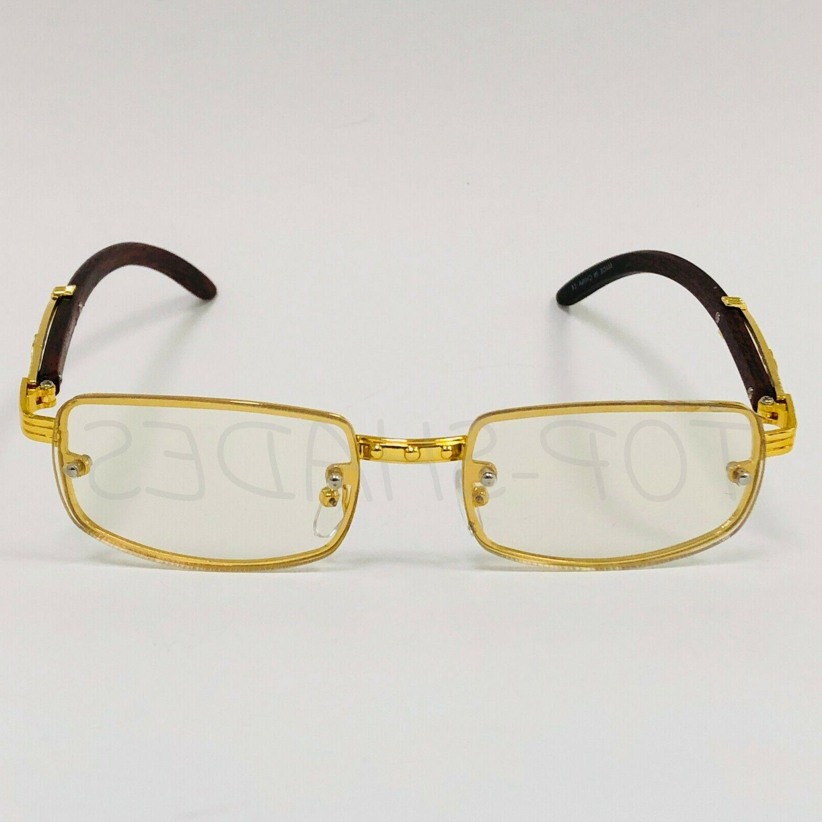Sophisticated Men Classy Gold Frame