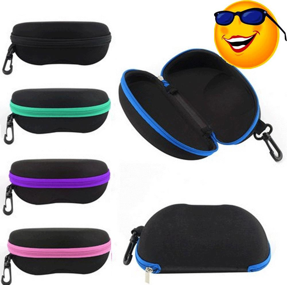 sunglasses case box eye glasses portable clam