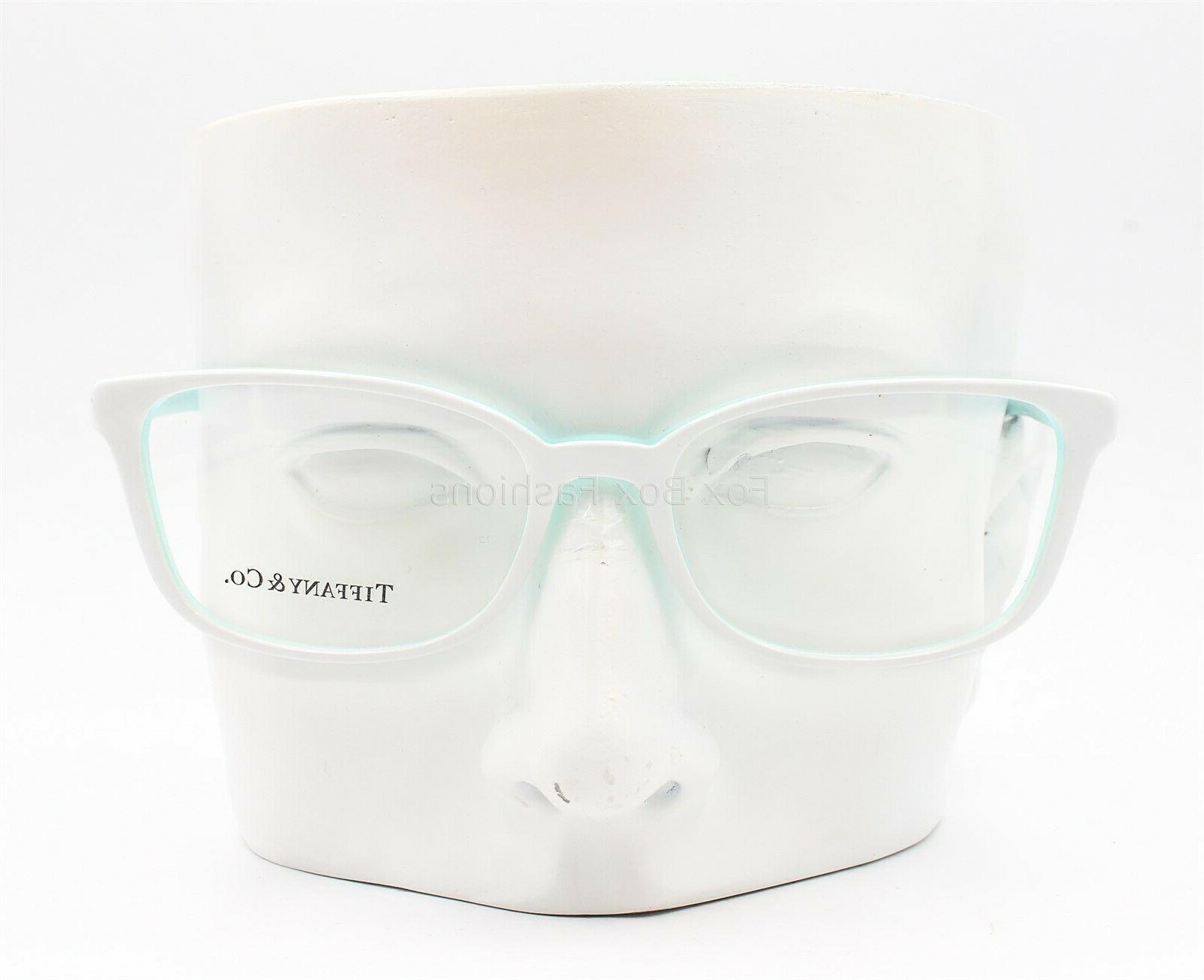 Tiffany & 2094 Eyeglasses Glasses White Blue Display