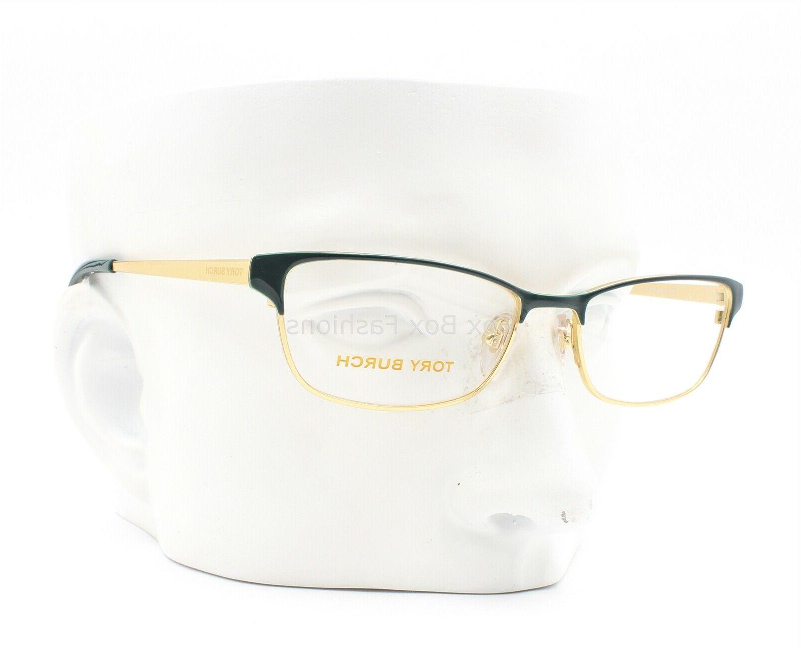 TORY TY 488 Eyeglasses Green & Gold 51-16-140
