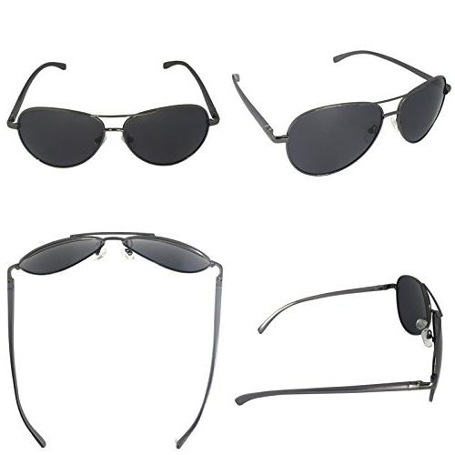 J+S Premium Military Sunglasses, Polarized, protection