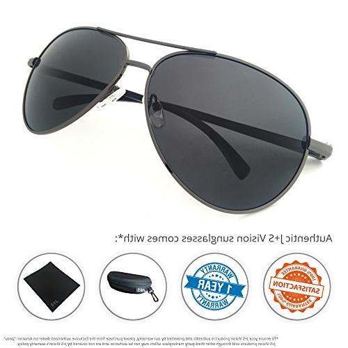 J+S Premium Ultra Sleek, Military Sports Sunglasses, 100% protection